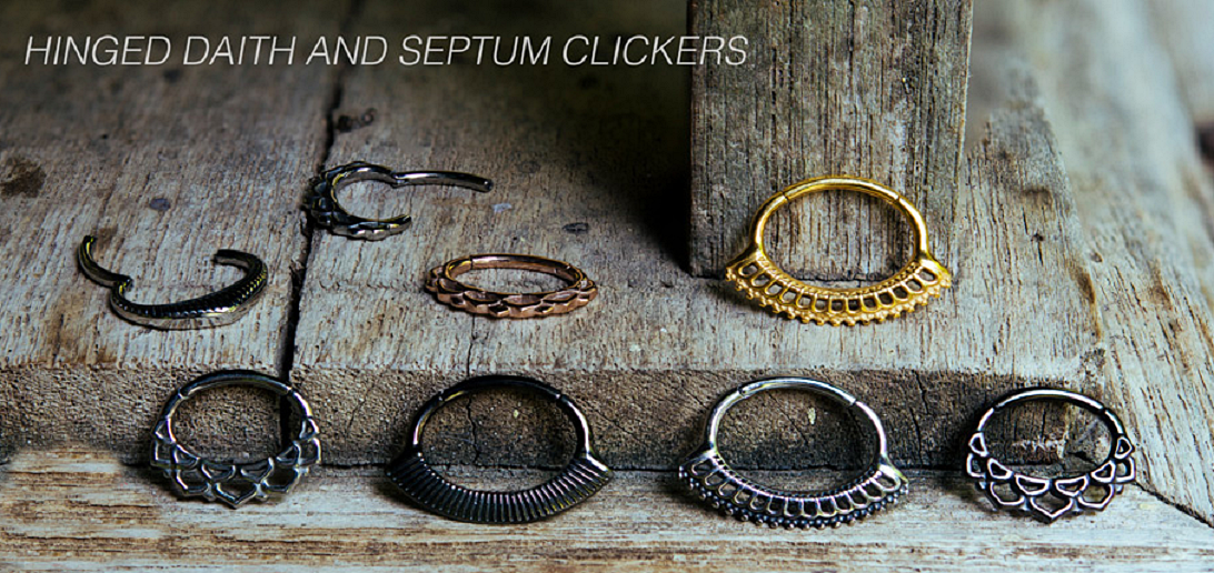 Daith Hinged Septum Clicker