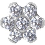 Titan Jew. Disc 1.2x06mm WH Flower