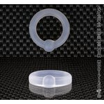 SH Silicon Captive Bead Ring (CBR) 0ga (8.25mm)