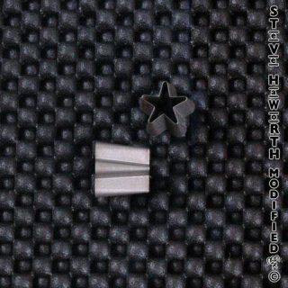 SH Shaped Ear Punch - Star