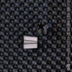 SH Shaped Ear Punch - Star
