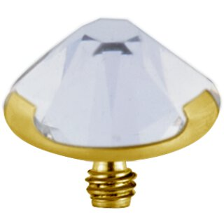 Golden Titan Jew. Disc 1.2mm  (3 Prong Setting)