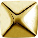 Int. Gold Stahl Aufsatz 01 -  für 1.2mm...