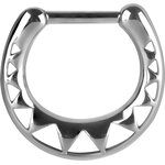 Steel Casting Septum Clicker 16 (African Pattern) -...