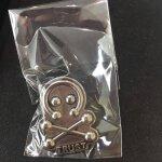 Trust Pin Buttons rund