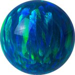 Synthetic Opal Clip in ball