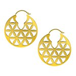 Brass Hoops #06 (15.2gr/Pair)