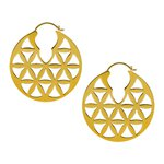 Brass Hoops #06L (25gr/Pair)