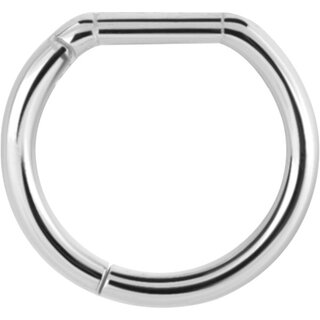 SS316L 1.2mm Casting Hinged Bar Closure Ring - handpoliert