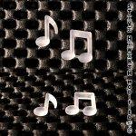 SH Mini Silicon Music Note Double 12.7 x 2.54mm (1/2 x...