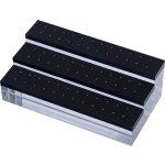 Acrylic Display Blocks für Aufsätze mit Außengewinde für...