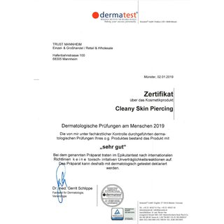 Cleany Skin Piercing selective wetting, 50 ml (cleaning spray for piercings)