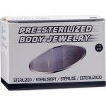 Sterile Medical Silikon Piercing Discs (50 Paar pro Box)...