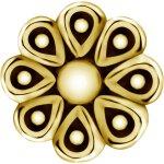Int. Gold Stahl Aufsatz 38L -  1.2x06mm für 1.6mm...