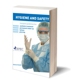 Hygiene and Safety, Complete guidelines for: aesthetic treatment, permanent make-up, tattoos, piercing