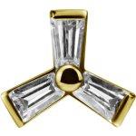 Int. Gold Stahl Aufsatz 30 -  für 1.2mm...