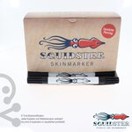 Squidster Piercing 50er Box - unsteriler Stift 2 in1