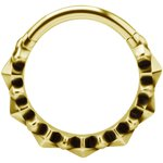 Conch #36 1.2mm Clicker, PVD Gold Stahl