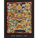 Buddha Life story, 50x39cm