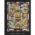 Buddha life Story, 50x37cm