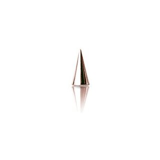 Rosegold Steel Cone 1.6 mm