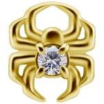 18K Gold Internal Spinnen Attachm. #75 mit Premium...
