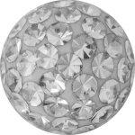 Crystal Ball 1.2mm mit Swarovki® Crystals und Epoxy...