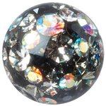 Crystal Ball Multi 1.6mm mit Swarovski® Crystals, Epoxy