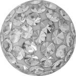 Crystal Clip In Ball , Epoxy