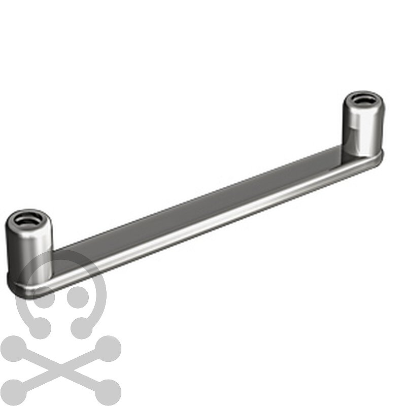 Flat Surface Bar 1.6 mm, Titan (1.2mm Innengewinde)