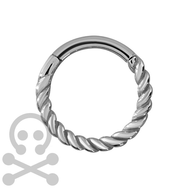 Black Hinged Ring Clothing