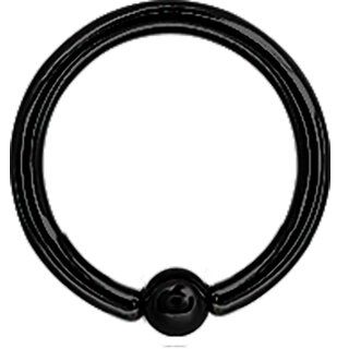 Ball Closure Ring 1.6mm Black Stahl