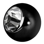 Jew. Ball Black 1.6mm, Stahl