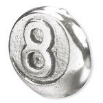 Stahl Motiv Att. 08 Eightball, 1.6mm (nur solange der...