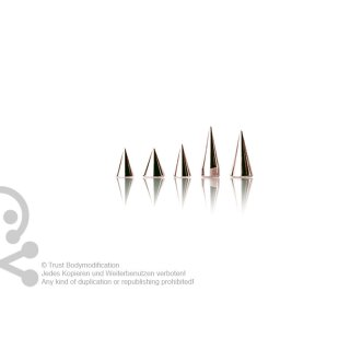 Rosegold Steel Cone 1.2 mm
