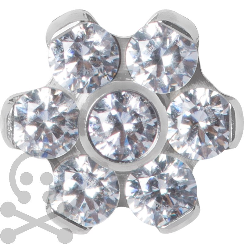 Titan Jew. Disc Flower 1.2 mm für 1.6 mm Internal...